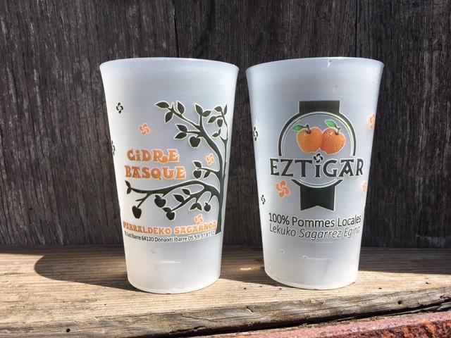Verre réutilisable -Baso berri EZTIGAR