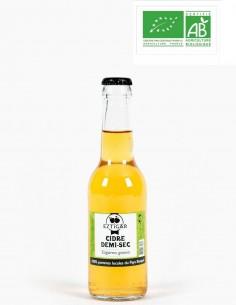 Cidre demi-sec Bio 33cl